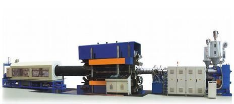 Dây chuyền sản xuất ống gân thành ống đôi đường kính lớn