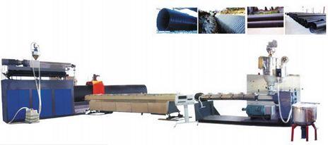 Dây chuyền sản xuất ống gân đường kính lớn