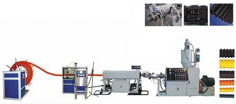 Dây chuyền sản xuất ống xoắn HDPE