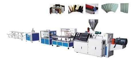 Dây chuyền sản xuất nẹp, hôp nhựa và các thanh profile đa hình nhỏ