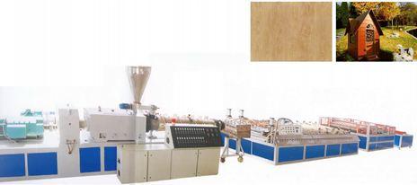 Dây chuyền sản xuất nhựa gỗ khổ lớn