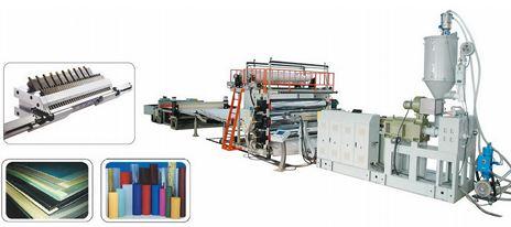 Dây chuyền sản xuất tấm nhựa dạng mỏng khổ rộng