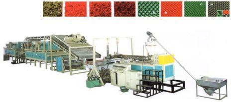 Dây chuyền sản xuất tấm nhựa trải sàn vệ sinh nội ngoại thất