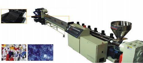Máy tạo hạt nhựa trục vít đơn kiểu cắt lạnh