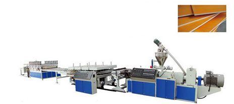 Dây chuyền sản xuất tấm nhựa xốp PVC