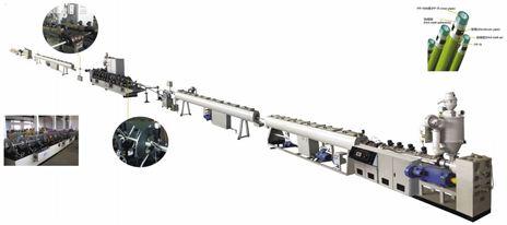 Dây chuyền sản xuất ống nhôm nhựa phức hợp  PPR-AL
