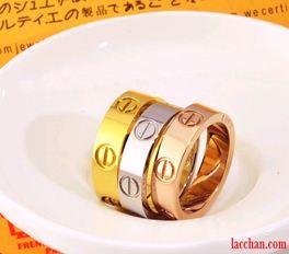 Nhẫn đôi cartier