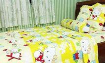 Grap giường khách sạn 01