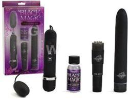 Bộ đồ chơi người lớn cho nữ Doc Johson Black Magic Pleasure Kit