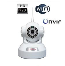 CAMERA IP WIFI J-TECH JT-HD4110W(1.0MP)