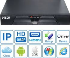 ĐẦU GHI CAMERA IP J-TECH HD1004 (FULL HD)