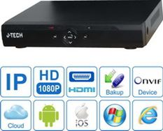 ĐẦU GHI CAMERA IP J-TECH HD1024 (FULL HD, 2XHDD)