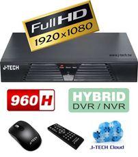ĐẦU GHI HÌNH KỸ THUẬT SỐ J-TECH JT-04C (FULL HD 1080P / 4CH 960H / 4CH IPC)