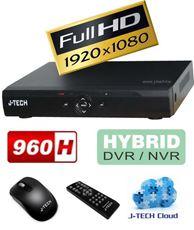 ĐẦU GHI HÌNH KỸ THUẬT SỐ J-TECH JT-208D (FULL HD 1080P / 8CH 960H / 8CH IPC)