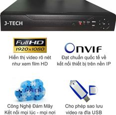 ĐẦU GHI CAMERA IP J-TECH HD1116S (FULL HD)