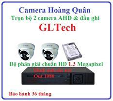 Lắp đặt camera GLTech trọn bộ 2 camera và đầu ghi