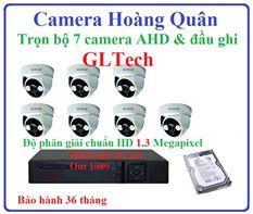 Lắp đặt camera GLTech trọn bộ 7 camera và đầu ghi