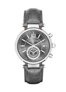 MICHAEL KORS Sawyer Grey Dial Grey Leather
