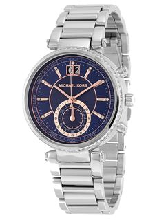 MICHAEL KORS Sawyer Blue Dial