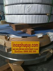 INOX CUỘN 201 KHỔ 1000 - 1200 x 0.8 mm