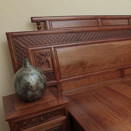 Giường ngủ gỗ tự nhiên - Phoenix Bed