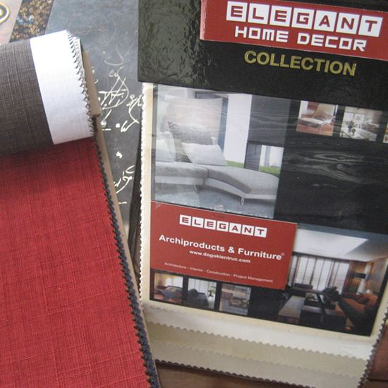 Mẫu vải bọc đệm Sofa