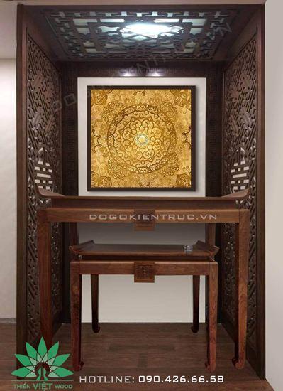 Mẫu bàn thờ đẹp hiện đại  - Mã H31