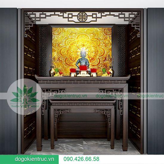 Mẫu bàn thờ dành cho biệt thự - Mã H08B