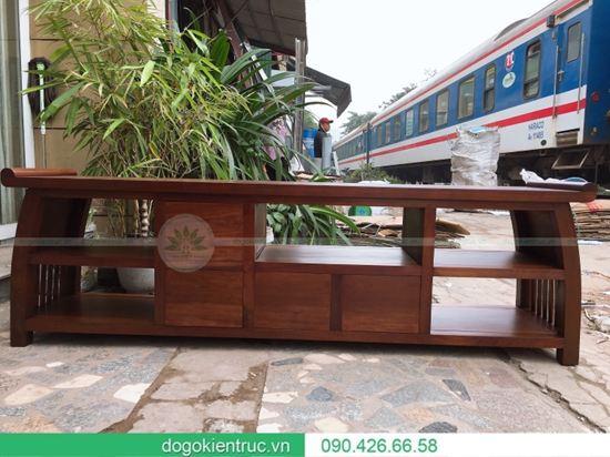 Kệ tivi gỗ tự nhiên