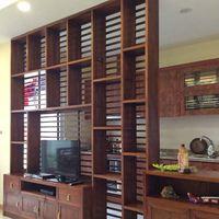 Đồ gỗ nội thất gia đình chung cư Golden Palace - Nhà chị Hòa