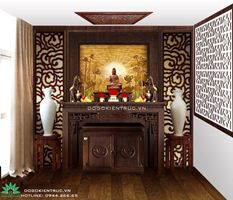 Bàn thờ, tủ thờ cho nhà chung cư nhỏ - các mẫu đẹp, hiện đại | Đồ Gỗ Kiến Trúc