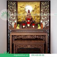 Những mẫu bàn thờ hiện đại bạn không thể bỏ qua nếu chuẩn bị về nhà mới