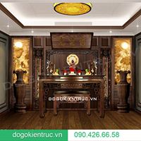 Gợi ý những thiết kế không gian thờ cúng đẹp nhất cho nhà ở hiện đại | Đồ Gỗ Kiến Trúc