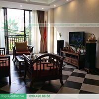 Kệ tivi gỗ tự nhiên hiện đại, kệ gỗ tivi phòng khách đẹp - Đồ Gỗ Kiến Trúc
