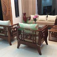 Sofa gỗ tự nhiên phong cách Grand Bois