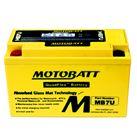 Ắc quy MotoBatt MB7U( 12V-6Ah)