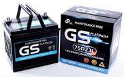 Ắc quy GS khô 12V-65Ah (MF75D23(R/L)GS)