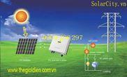 Hệ thống năng lượng mặt trời hòa lưới 3.6Kwp