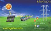 Hệ thống năng lượng mặt trời hòa lưới 3Kwp