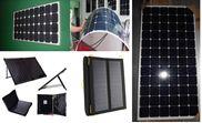 Tấm pin năng lượng mặt trời dẻo uốn cong 180W