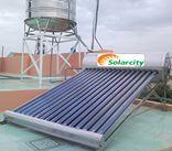 Máy nước nóng năng lượng mặt trời 120 lit Solarcity