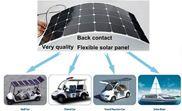 Pin năng lượng mặt trời uốn cong 80W