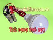 Bóng đèn led siêu sáng 5W-12V - HMC có kẹp