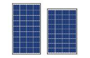 Tấm pin năng lượng mặt trời 110w Poly