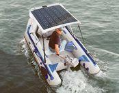 Tấm pin năng lượng mặt trời uốn cong 120W