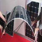 Pin năng lượng mặt trời dẻo uốn cong 160W