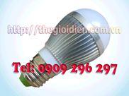Đèn led siêu sáng 3W - HK - 220V