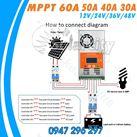 Bộ điều khiển nạp năng lượng MPPT 50A Auto MakeSkyBlue
