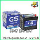 Ắc quy  khô GS 12V-60Ah (MF55D23)