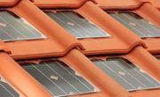 Mái ngói tích hợp pin mặt trời của Tegolasolare